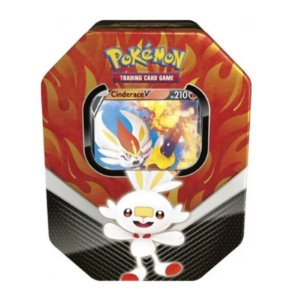 Pokémon Lata Parceiros de Galar - Cinderace V