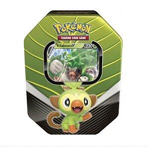 Pokémon Lata Parceiros de Galar - Rillaboom V