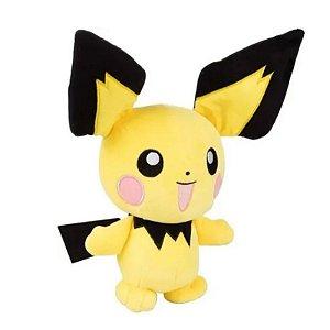 """Pokémon Pichu 8"""" - Pelúcia colecionável"""