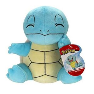 """Pokémon Squirtle 8"""" - Pelúcia colecionável"""