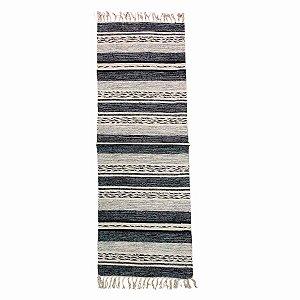 Passadeira Raipur 100% Algodão Cinza 60cmx180cm