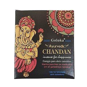 Incenso Cone Goloka Chandan