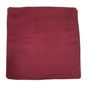 Capa de Almofada de Algodão Lisa Roxa 45x45cm