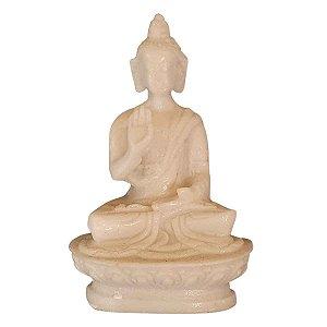 MIniatura de Buda Sidarta Proteção de Pó de Mármore 8cm (Modelo 5)