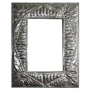Porta Retrato Folha de Alumínio Lótus - 20x25cm