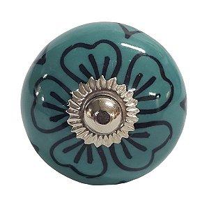 Puxador Cerâmica Indiano Modelo 6