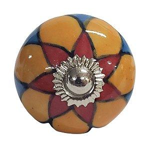 Puxador Cerâmica Indiano Modelo 32