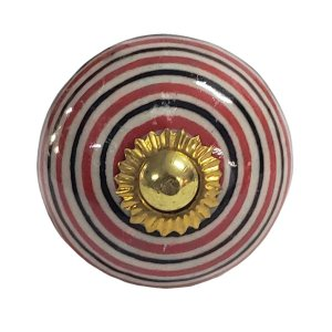 Puxador Cerâmica Indiano Modelo 18