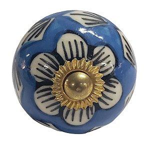 Puxador Cerâmica Indiano Modelo 17