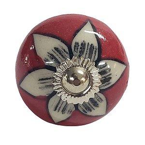 Puxador Cerâmica Indiano Modelo 12