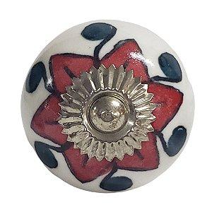 Puxador Cerâmica Indiano Modelo 45