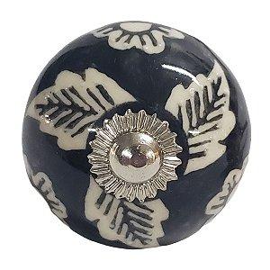 Puxador Cerâmica Indiano Modelo 75