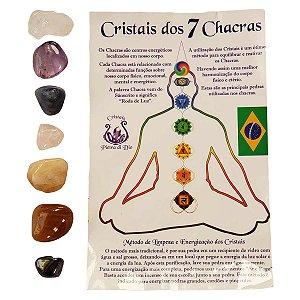 Pedras Sete Chakras