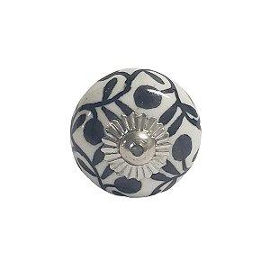 Puxador Cerâmica Indiano Pequeno (Modelo 2)