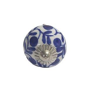Puxador Cerâmica Indiano Pequeno (Modelo 7)