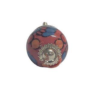 Puxador Cerâmica Indiano Pequeno (Modelo 10)