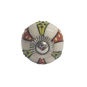 Puxador Cerâmica Indiano Pequeno (Modelo 18)