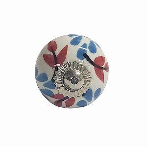 Puxador Cerâmica Indiano Pequeno (Modelo 37)