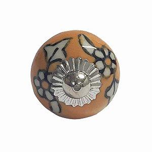 Puxador Cerâmica Indiano Pequeno (Modelo 40)