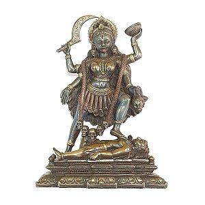Deusa Kali de Resina 20 cm