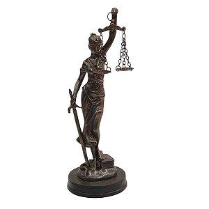 Deusa da Justiça de Resina 25cm