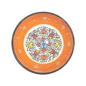 Bowl Turco Pintado de Cerâmica (Modelo 2) 16cm