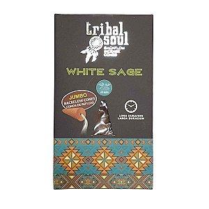 Incenso Cascata Tribal Soul Sálvia Branca