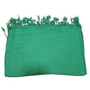 Pashmina 100% Viscose Verde Bandeira 70cmx1,80m