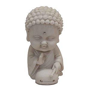 Estátua Budinha de Pó de Mármore (Modelo 3)