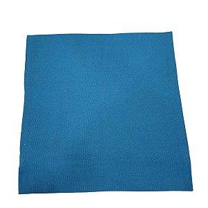 Capa de Almofada de Algodão Lisa Azul 45cmx45cm