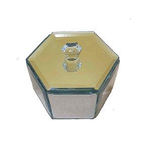Caixa Decorativa de Espelhos 7,5cm