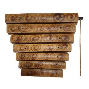Xilofone de Bambu 37cm