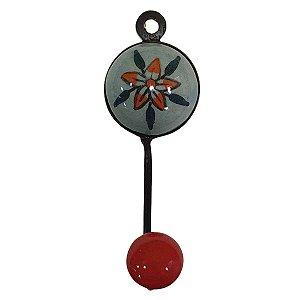 Gancho Unitário Cerâmica Redondo Modelo 18