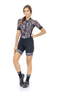 Macaquinho Feminino para Ciclismo Lavínia Strong Life
