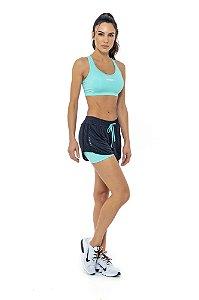 Short com Bermuda de Corrida (Runner) com bolsos Physical fitness