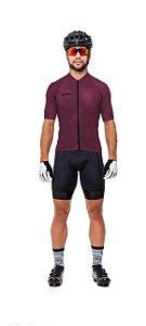 Camisa de Ciclismo Masculina em Poliamida Lisa Strong Life
