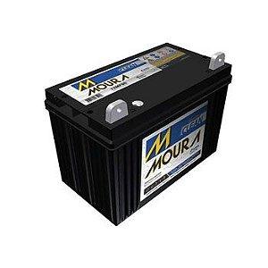 Bateria Estacionária Moura 12MN 80 Ah.