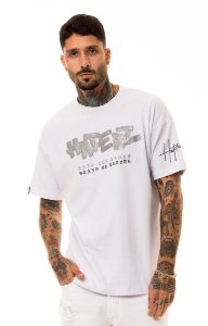 CAMISETA OVER HATERZ SILVER TAPE