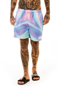 SHORTS BEACH SHORTS HOLOGRAPHIC