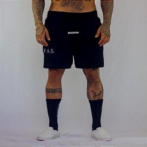 Shorts Fas Confy Preto
