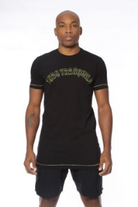 Camiseta Retro Tradicional Preto