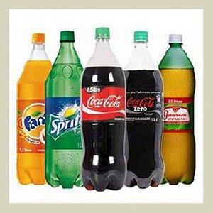Refrigerante - valor por lata ou garrafa