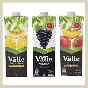 Suco Del Valle 1L - valor por litro