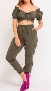 Cropped Laço Abacate