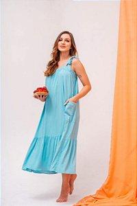 Vestido Bolso Color