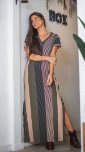 Vestido Basic longo
