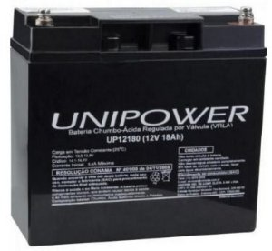 Bateria Selada Unipower 12V/18Ah UP12180 NAC