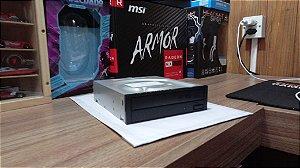Leitor e Gravador de CD e DVD SATA Sony AD7240S