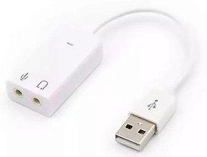 Placa de Som 7.1 USB