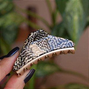 Piranha de cabelo francesa Finestra mosaico F2846OPERA